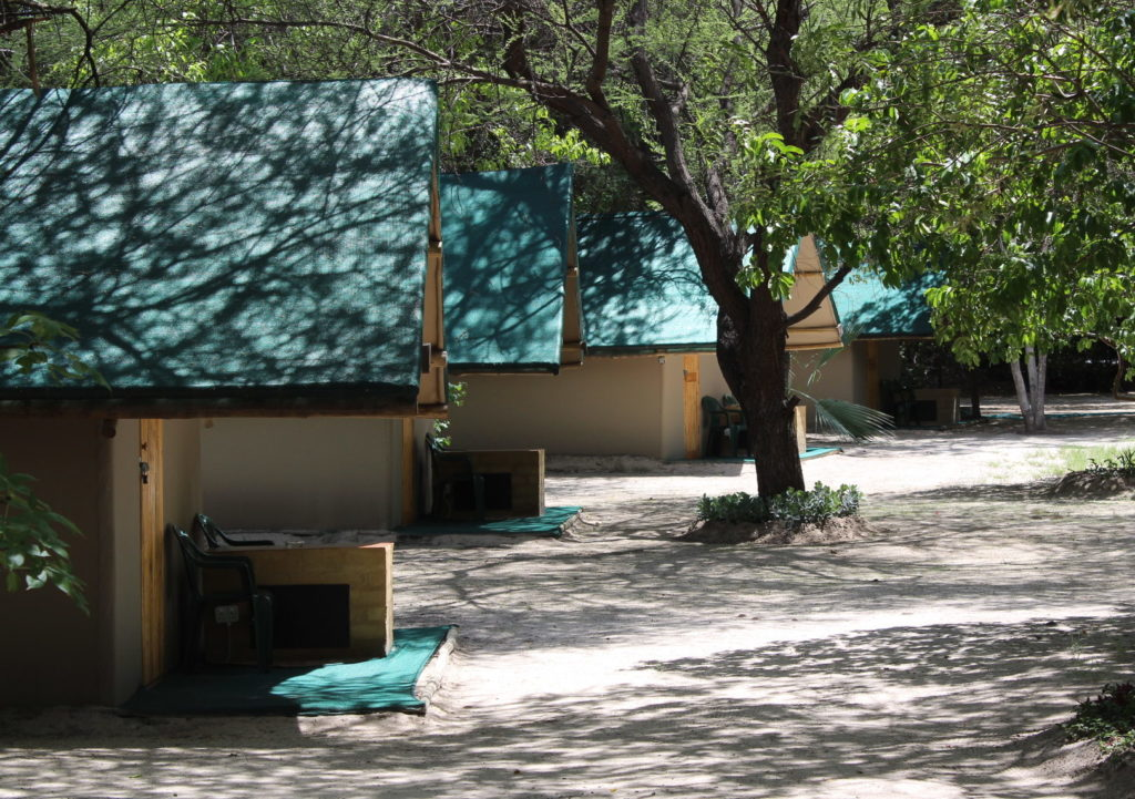 Standard furnished tents